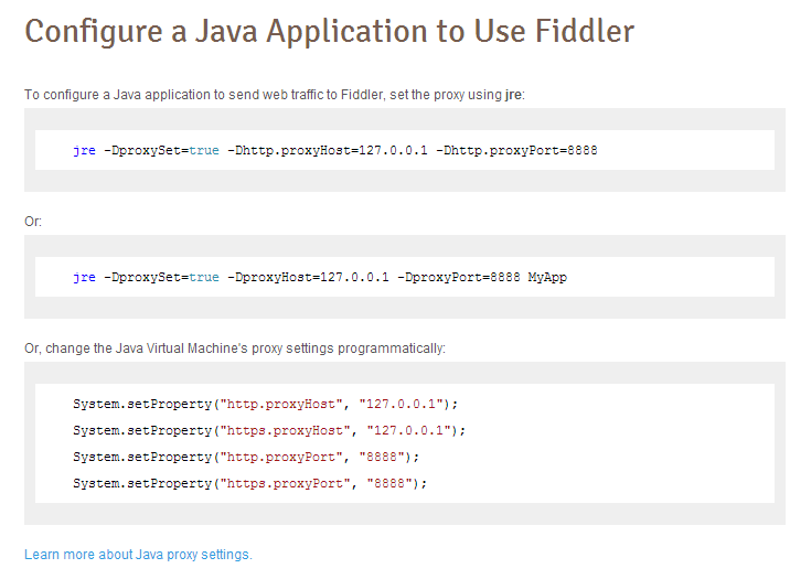Getting Fiddler to work with SoapUI | Kicking Tech
